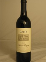 Groth Cabernet Sauvignon Oakville Napa Valley  2012 14.9% ABV 750ml