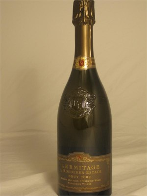 Roederer Estate L'Ermitage Brut 2003 12% ABV 750ml
