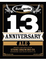 Stone Bottleworks 13th Anniversary Limited Supply 22 oz