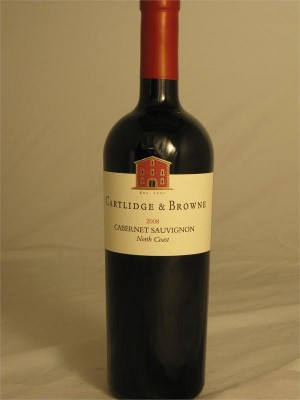 Cartlidge & Browne  Cabernet Sauvignon North Coast 2010  13.5% ABV 750ml