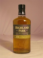 Highland Park 15 Year  Single Malt 43% ABV  750ml