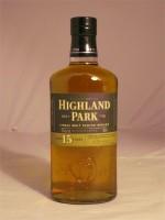 Highland Park 15 Year  Single Malt 43% ABV  750ml