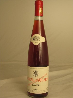 Chateau d'Aqueria Tavel Rose Jean Olivier 2013 France 12% ABV 750ml