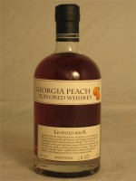 Leopold Bros Georgia Peach Flavored Whiskey 30% ABV 750ml