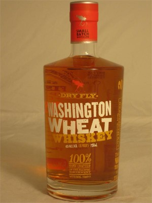 Dry Fly Washington Wheat Whiskey 40% ABV 750ml