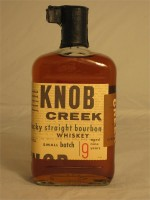 Knob Creek  Small Batch 9 yr Kentucky Straight Bourbon Whiskey  100 proof 50% ABV 750ml