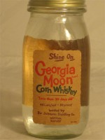 Shine On  Georgia Moon Corn Whiskey Kentucky  40% ABV 750ml
