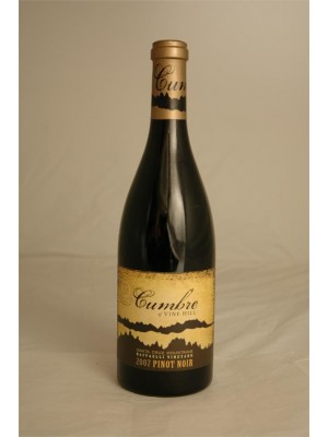 Cumbre of Vine Hill Santa Cruz Vine Hill Raffaelli Vineyard Pinot Noir 2007 14.5% ABV 750ml