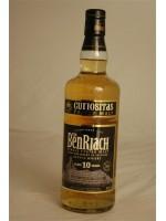 Benriach* Curiositas 10 Year Heart of Speyside Single Peated Malt Scotch Whisky 46% ABV 750ml
