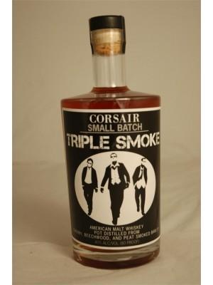 Corsair Small Batch Triple Smoke American Malt Whiskey 40% ABV 750ml