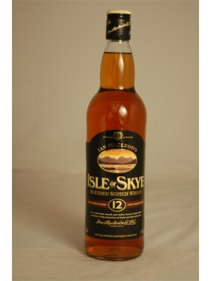 Isle of Skye 12 yr Blended Scotch Whisky  43% ABV 750ml