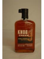 Knob Creek Single Barrel Reserve 9 yr Kentucky Straight Bourbon Whiskey 120 proof 60% ABV 750ml