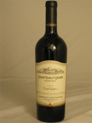 Chateau St. Jean Cinq Cepages Sonoma County Cabernet Sauvignon 2004 14.4% ABV 750ml