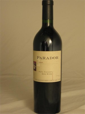 Parador Cellars Napa Valley Red Table Wine 2000 14.3% ABV 750ml