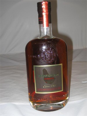 Mount Gay  Rum Barbados Extra Old XO 43% ABV 750ml