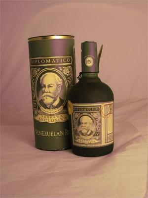 Diplomatico  Reserva Exclusiva Rum 12yr Venezuela 40% ABV 750ml