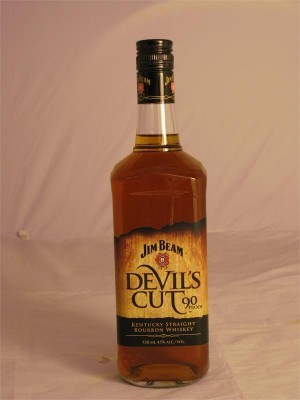 Jim Beam Devil's Cut Kentucky Straight Bourbon  45% ABV 750ml