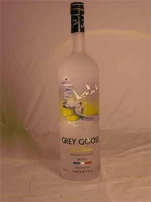 Grey Goose Le Citron Vodka 40% ABV 1.75 L