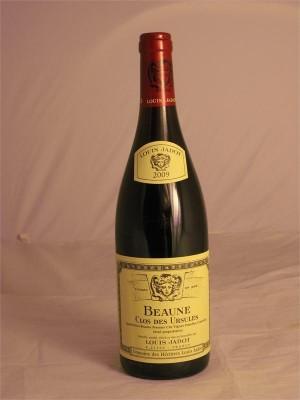Louis Jadot Beaune Clos Des Ursules Premier Cru 2009 13.5% ABV 750ml
