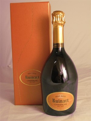 Ruinart Champagne Brut Rose NV  12.5% ABV  750ml