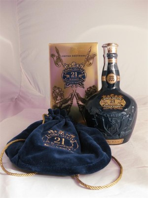 Chivas Brothers 21 Year Royal Salute  40% ABV 750ml