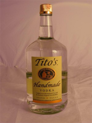 Tito's Handmade Vodka Texas 40% ABV 1.75 L