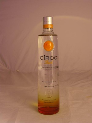 Ciroc Peach Vodka 35% ABV 750ml