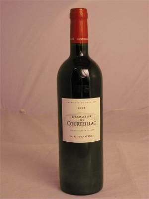 Domaine De Courteillac Bordeaux Superieur 2008  14% ABV 750ml