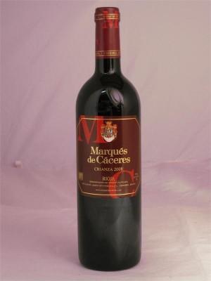 Marques de Caceres Rioja Crianza 2009 13% ABV 750ml