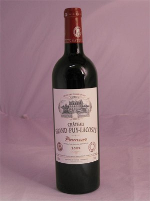Chateau Grand-Puy-Lacoste Pauillac 2009 13.5% ABV 750ml
