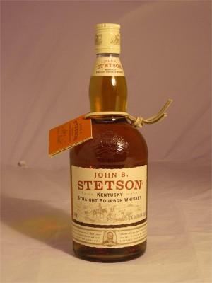 John B. Stetson Kentucky Straight Bourbon Whiskey 42% ABV  750ml