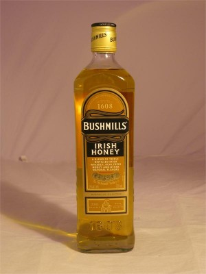 Bushmills Irish Honey Whiskey 35% ABV  750ml