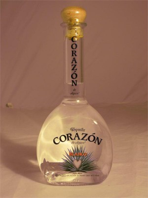 Corazon Tequila Blanco 40% ABV 750ml