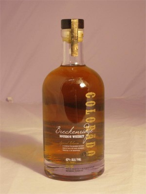 Breckenridge Bourbon Whiskey Colorado 43% ABV 750ml