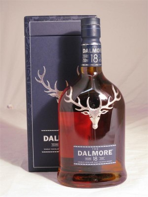Dalmore 18 Year Single Malt Scotch Whisky  40% ABV 750ml