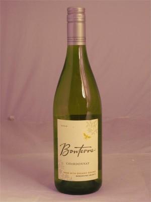 Bonterra Chardonnay  Organic Mendocino 2013  13.5% ABV  750ml