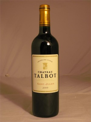 Chateau Talbot Saint-Julien 2009 13.5% ABV  750ml