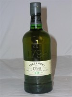 Tobermory Isle of Mull 10 yr Single Malt Scotch Whisky  46.3% ABV 750ml