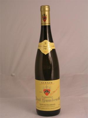Domaine Zind Humbrecht Gewurztraminer Alsace 2011  14% ABV  750ml