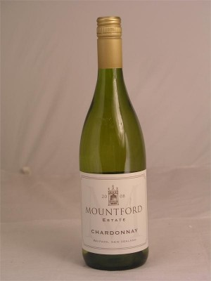 Mountford Estate Chardonnay Waipara 2008 14% ABV  750ml