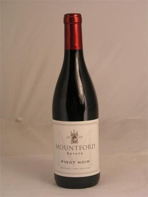 Mountford Estate Pinot Noir Waipara 2008 14% ABV 750ml