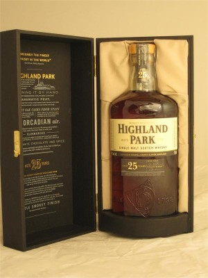 Highland Park 25 Year  Single Malt  750ml