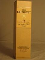 Glenlivet  12 Year Single Malt Scotch Whisky 40% ABV 750ml
