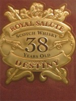 Royal Salute 38yr Stone of Destiny Blended Scotch Whisky 750ml Chivas Brothers Ltd Distillers Keith Scotland