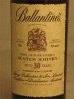 Ballantine's 30yr Very Old Blended Scotch Whisky 750ml
