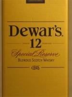 Dewar's 12yr Special Reserve Blended Scotch Whisky 750ml John Dewar & Sons Ltd Pertshire Scotland