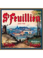 St Feuillien Belgian Tripple Abbey Ale 750ml btl St Feuillien Brewery Le Roeulx Belgium