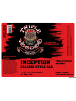 Triple VooDoo Inception Belgian Style Ale 22oz