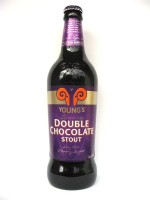 Young's Double Chocolate Stout 500ml btl Ale with Natural Chocolate