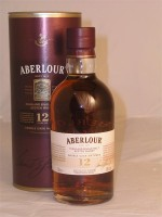 Aberlour 12yr Highland Single Malt  Double Cask Matured Sherry Cask  43% ABV 750ml